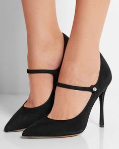 TABITHA SIMMONS Lula Suede Pumps   Buy ➜ http://shoespost.com/tabitha-simmons-lula-suede-pumps/