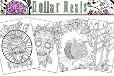 Our Exclusive Adult Coloring Pages By Whispers In Nature Only 1