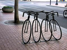 bicycle city by susangleason, via Flickr