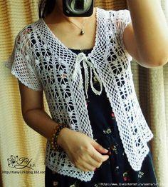 Ideas para el hogar: Patrones de chalecos en crochet#more