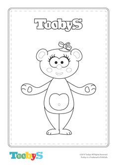 Tooby Coloring Sheet