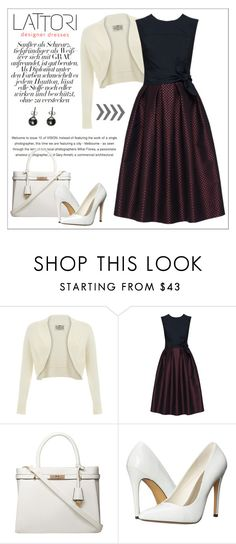 """LATTORI dress"" by water-polo ❤ liked on Polyvore featuring Lattori, Dorothy Perkins, Michael Antonio, Black, polyvoreeditorial and lattori"