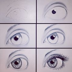 how to eye sketch