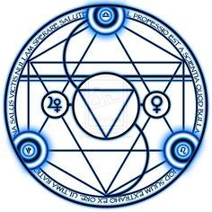 Bronze Transmutation Circle by ~bagstoper on deviantART