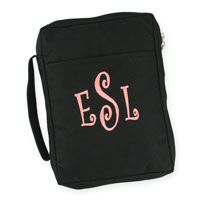 Bible cover...it holds a pen and your notes. Cute and functional!