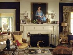 Grey Gardens News: Breakfast with Kalina: The Living Room of Grey Gardens