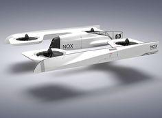NOX first person view quadcopter concept designboom