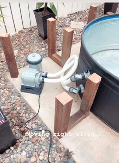 Our stock tank pool {part one} Stock Pools, Stock Tank Pool, Small Backyard Patio, Backyard Patio Designs, Backyard Ideas, Redneck Pool, Piscine Diy, Jacuzzi Outdoor, Diy Pool