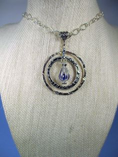 Double O Pendant by spiritracer. Explore more products on http://spiritracer.etsy.com