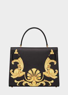 5b2c4ebf75 Large Barocco Print Icon Handbag for Women