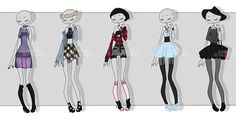 gachapon outfits 9 by kawaii-antagonist on DeviantArt