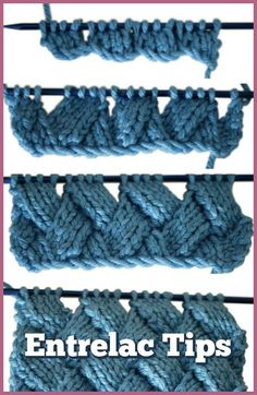 Entrelac knitting looks scary, but trust me, you can handle it. - Entrelac knitting looks scary, but trust me, you can handle it! Here are some tips to help your first venture into entrelac be a success. You Can Knit Entrelac – We'll Show You How Love Knitting, Knitting Stiches, Baby Knitting Patterns, Crochet Stitches, Crochet Patterns, Stitch Patterns, Knitting Ideas, Afghan Patterns, Easy Knitting Projects