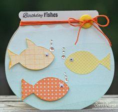 Bug Lover Cards: Birthday Fishes  http://buglvr.blogspot.com/2012/06/birthday-fishes.html#