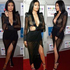 Hot sale Mesh patchwork perspective sexy club dress 2016 Long Sleeve deep V-neck Black Bodycon dress Kendall Jenner vestidos | Diva's fashion store