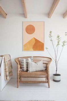 Coolest top home decor inspiration Modern Prints, Mid-century Modern, Diy Home Decor, Room Decor, Neutral Walls, White Walls, Mid Century Modern Art, Printable Wall Art, Image Printable