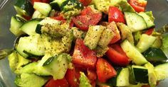 I posted my Refreshing Salad on Twitter (follow me!) , and on Pinterest (follow me there, too!) . I received lots of questions about the rec...