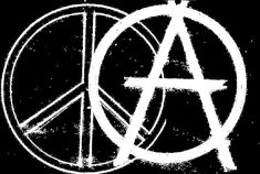 anarchy peace sign   Is a Peaceful Anarchy the Future?