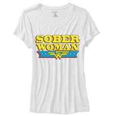 Sober Woman Tee