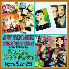Workshop Awesome transfers Wijchen