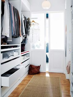 Ikea Walk In Closet Design - pax wardrobe system