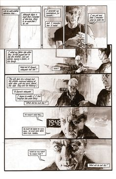 Page from graphic novella written by Neil Gaiman. 1987