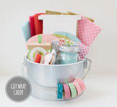Gift Wrap Caddy