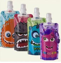 Vapur #madeinUSA water bottle with kid's designs