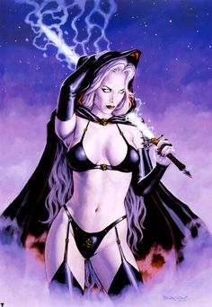 Lady Death by Dorian Cleavenger