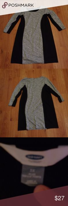 OLD NAVY Dress Size 3X Excellent condition dress from Old Navy in a size 3X.   From a smoke free home.  Check out my other listings! I give discounts for bundles!!! Old Navy Dresses