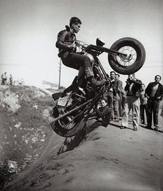 hill climb. The way it should be done. No special made bike