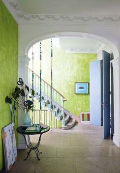 Une entrée citronnée chez la célèbre designer