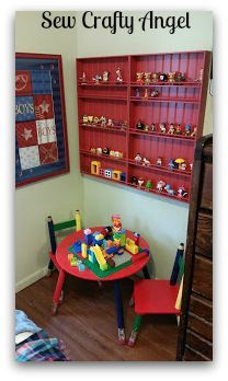 Sew Crafty Angel: Lego Play Area