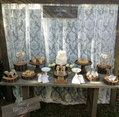 Once Upon A Table E's Bridal/Wedding Shower / Sweetie Pie - Photo Gallery at Catch My Party Pie Bar Wedding, Wedding Prep, Our Wedding Day, Wedding Ideas, Wedding Cake, 25th Wedding Anniversary, Anniversary Parties, Bridal Shower Rustic, Bridal Showers