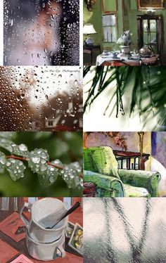 What's That Sound?  Rain On The Window by Linda Voth on Etsy--Pinned with TreasuryPin.com