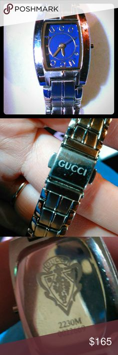 Gucci watch Needs a battery Gucci Accessories Watches