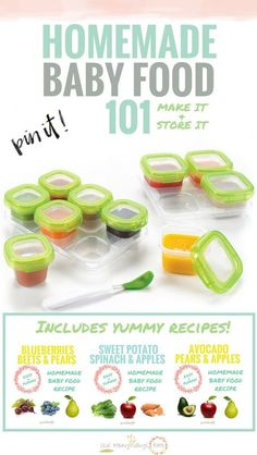 No need to buy a $200 baby food maker! Great for beginners! Just use your blender and crockpot! Includes super easy yummy homemade baby food recipes!