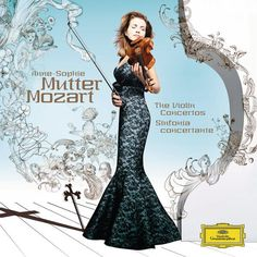 Mozart  The Violin Concertos  Sinfonia Concertante    Anne-Sophie Mutter, violin and conduction  London Philharmonic Orchestra  Boris Garlitsky, leader  Boris Bashmet, viola  Deutsche Grammophon, 2005