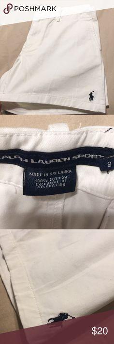 Ralph Lauren polo white shorts Ralph Lauren polo white shorts Polo by Ralph  Lauren Shorts Ralph 873064fba84