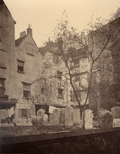 In the graveyard of St Bartholomew the Great