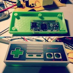 Something we loved from Instagram! Fit is nice so far so good. Turning out to be a fun project. #retro #zeropi #raspberrypi #nes #nintendo #iammaker #green #pla #oldschool #projects #fun by 509maker Check us out http://bit.ly/1KyLetq