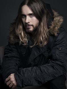 Jared Leto Photo by Luke Fontana (Dreaming In blue) Most Beautiful Man, Gorgeous Men, Beautiful People, Jared Leto Hot, Jared Leto Long Hair, Jared Leto 2014, Celebrity Photographers, Celebrity Portraits, Star Wars