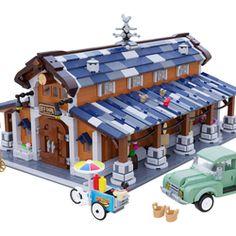 Lego Minecraft, Lego Moc, Legos, Lego Structures, City Layout, Micro Lego, Lego Boards, Amazing Lego Creations, Lego Minifigs