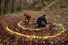 Land-Artist Sylvain Meyer uses what's available on site to create these beautiful land art or landscape art Andy Goldsworthy, Art Et Nature, All Nature, Land Art, Art Environnemental, Ephemeral Art, Elements Of Nature, Artistic Installation, Environmental Art