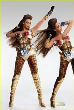 Beyonce in a Thierry Mugler costume