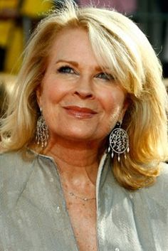 Candice Bergen (age 68). Gorgeous when she was younger, still gorgeous to this day.