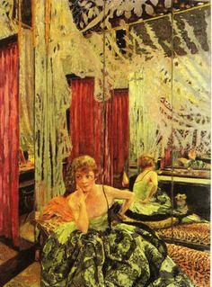 Edouard Vuillard  Portrait of the actress Jane Redouart