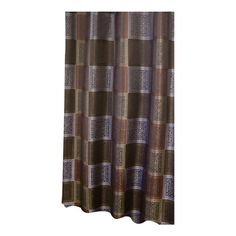 Veratex, Inc. Resin Tiles Polyester Shower Curtain