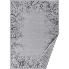 3000** bavlněná žinylka, polyester** Šedý vzorovaný oboustranný koberec Narma Puise, 140x200cm
