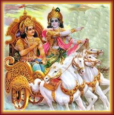 The Supreme Lord, the Divine Controller, thus conferring mounted together with Arjuna his chariot and set off in the western direction.