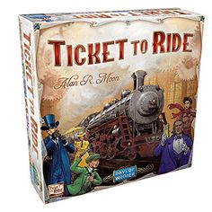 Days of Wonder Ticket to Ride, Age: 8 years and up Board Games For Two, Best Family Board Games, Games For Kids, Family Games, Children Games, Ticket Card, Ticket To Ride, Games For Middle Schoolers, Best Hobbies For Men